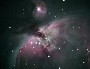 Orion nebula M42 taken on 1-21-2015
