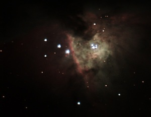 Orion nebula on 1-4-2014. I was rather proud of what I had achieved in almost a year of learning the hobby.